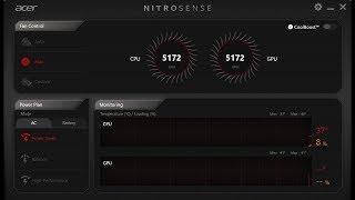 Nitrosense Acer Error - 100% Solved