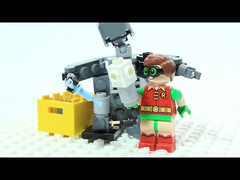 Lego Batman Robin Joker Needle Mech Brick Building Superhero Cartoon Animation