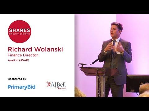 Richard Wolanski, Finance Director - Avation (AVAP)