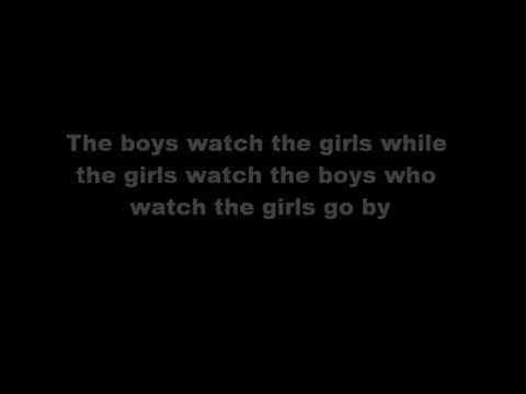 Music To Watch Girls By~Andy Williams~Lyrics