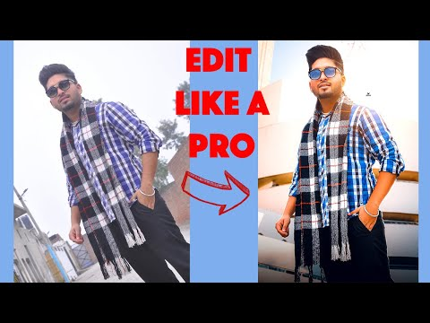 How To Edit Photo In Photoshop CC 2019/2020 (Very Easy)