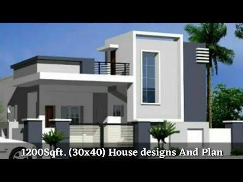 30 40 House Plan 30 40 घर क नक श Front Elevation