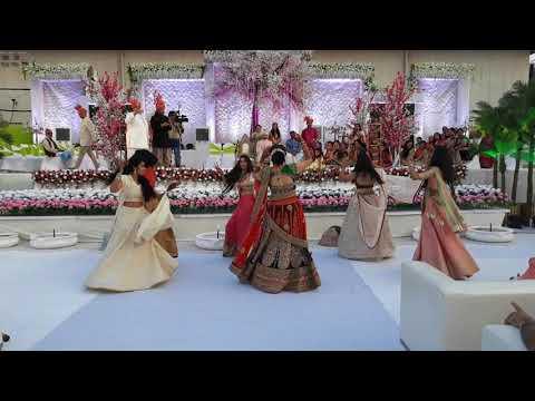 Padmavati Ghoomar Song Performance For Wedding Bride Entry On Ghoomar By Sisters choregraphy GE