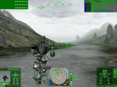 Mechwarrior 4: Mercs Checkpoint - Panther
