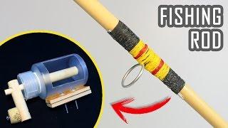 How To Make a Fishing Rod and Reel at Home | DIY Fishing | Fishing Hacks