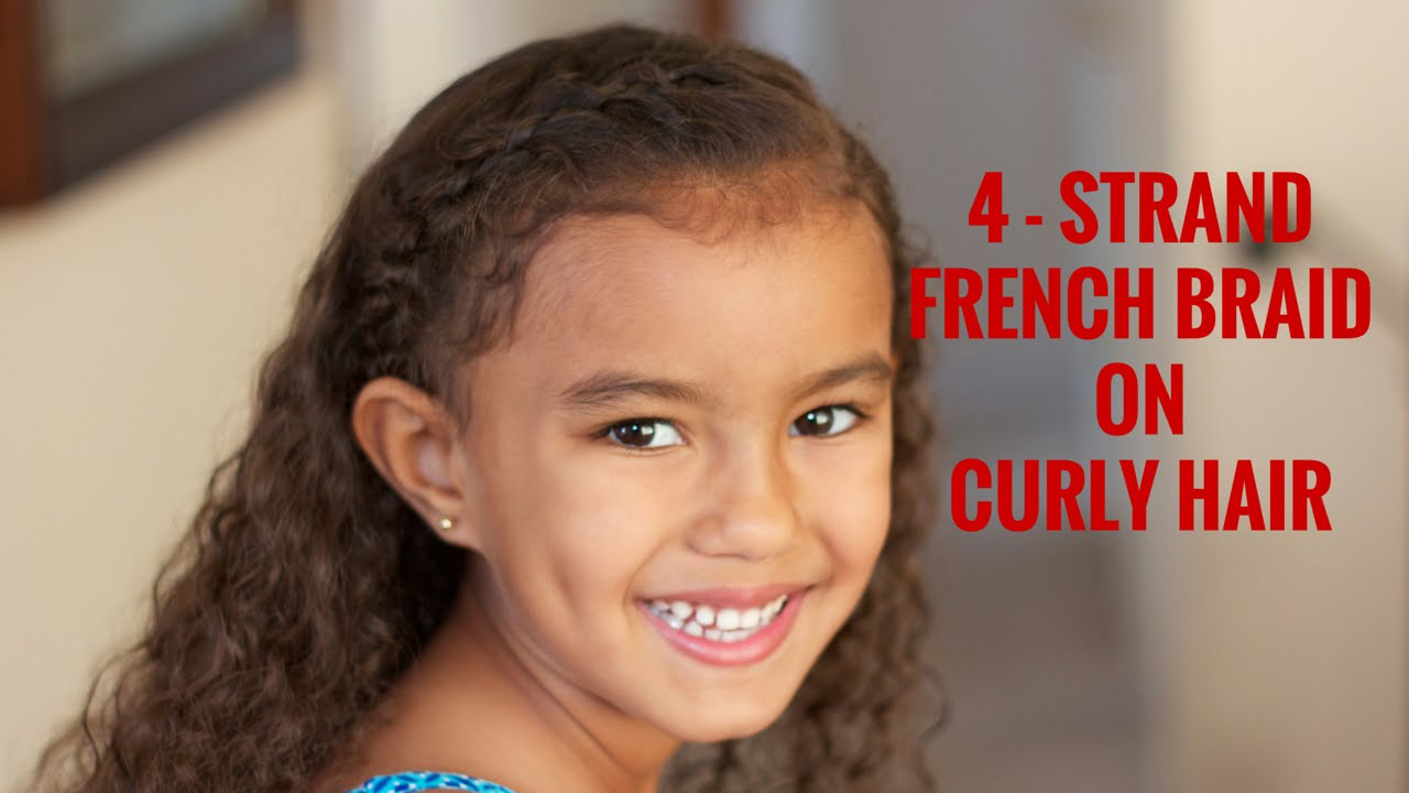 Curly hair in french