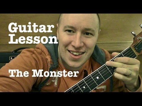 The Monster ★ Guitar Lesson ★ Eminem ft Rihanna★(Todd Downing)
