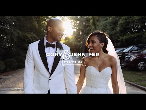 Couple Met Cause of The President of The United States {Atlanta Wedding Videographer}