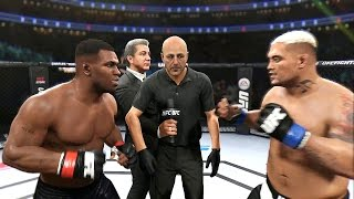 EA Sports UFC 2 Iron Mike Tyson vs. Mark Hunt FULL FIGHT (Xbox One, PS4)