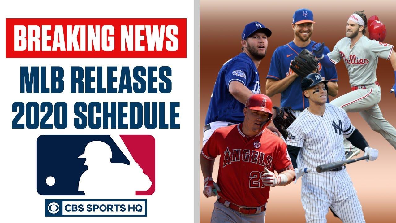 BREAKING: MLB Releases 2020 Schedule, Yankees vs Nationals, Giants vs Dodgers Opener | CBS Sports HQ