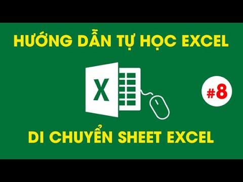 Tự Học Excel – Cách di chuyển Sheet trong Excel từ tệp excel này sang tệp excel khác – #8