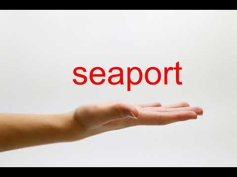 How to Pronounce seaport - American English