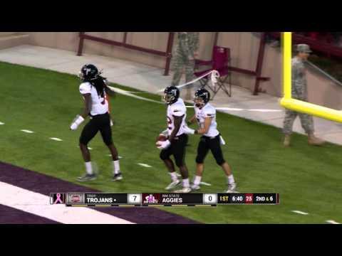 2015 Troy Football Top Play Nominee - Brandon Burks