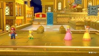 Super Mario Party Partner Party #736 Tantalizing Tower Toys Mario & Koopa Troopa vs Peach & Daisy