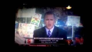 College Gameday sign - ESPN penis