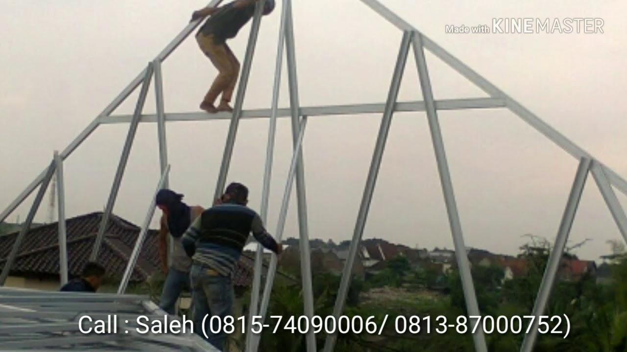 Pasang Baja Ringan Bintaro Mybajaringan Com Rangka Call Saleh 0815