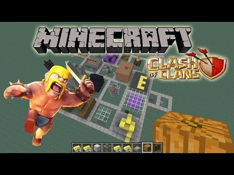 MINECRAFT CLASH OF CLANS by EvanTubeHD!  Cave of DOOM!
