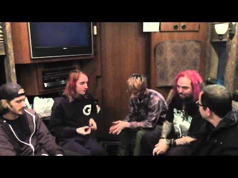 MAX/Richie/IGOR/Zyon CAVALERA Family Interview 2013 SOULFLY/Incite/LODY KONG