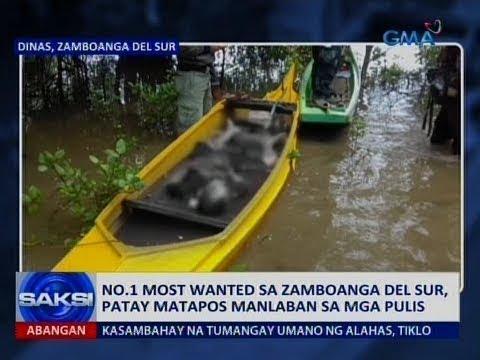 Saksi: No.1 most wanted sa Zamboanga del Sur, patay matapos manlaban sa mga pulis