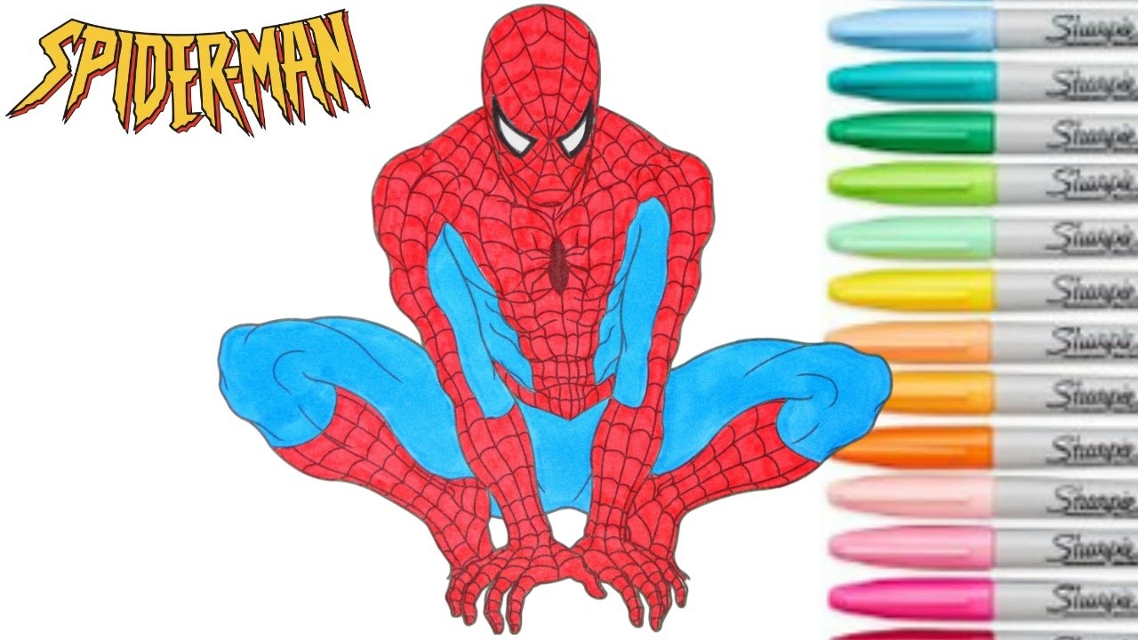 13 Spiderman Lineart Ultimate Spiderman For Free Download On Ayoqq Org