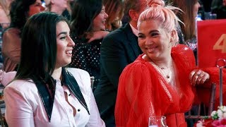 LAUREN JAUREGUI AND HAYLEY KIYOKO MOMENTS AT  #womeninmusic