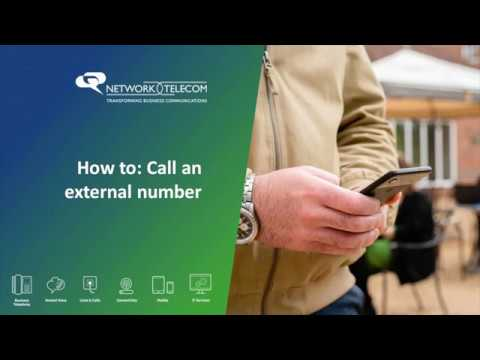 Mobile app: How to call an external number using the dial pad thumbnail