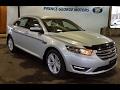 2017 Ford Taurus Sedan SEL AWD Review   Prince George Motors