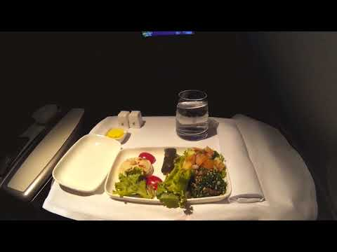 GULF AIR FALCON GOLD BUSINESS CLASS BANGKOK BKK TO BAHRAIN BAH Long -Haul Airbus A330-200