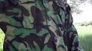 Форма б/у  британской армии.
