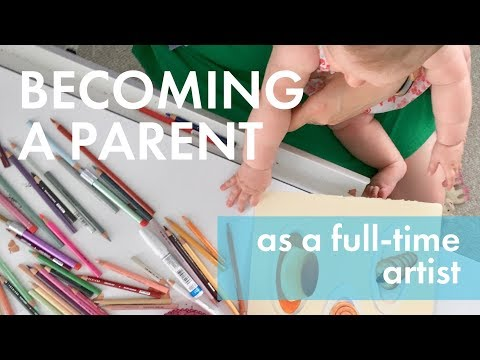 Starting a Family as a Freelance Illustrator: My Honest Experience