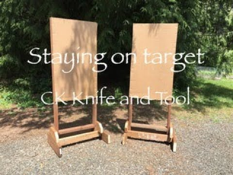 Target stands for a weekend project