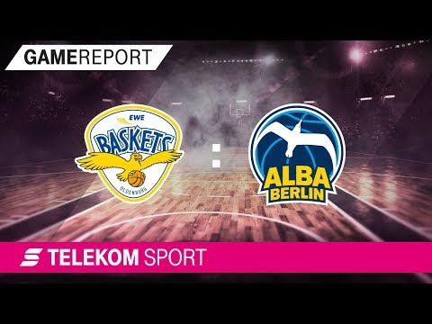 EWE Baskets Oldenburg - ALBA Berlin | Viertelfinale, Spiel 4