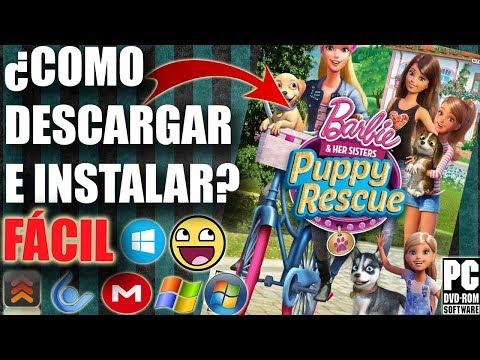Descargar Barbie and Her Sisters Puppy Rescue para PC FULL En Español (Paso a Paso)