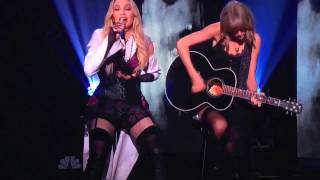 Madonna and Taylor Swift Perform  Ghosttown  at the 2015 iHeart Radio Music Awards Performance