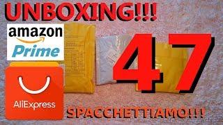 ALIEXPRESS unboxing n°47, spacchettiamo insieme !!!