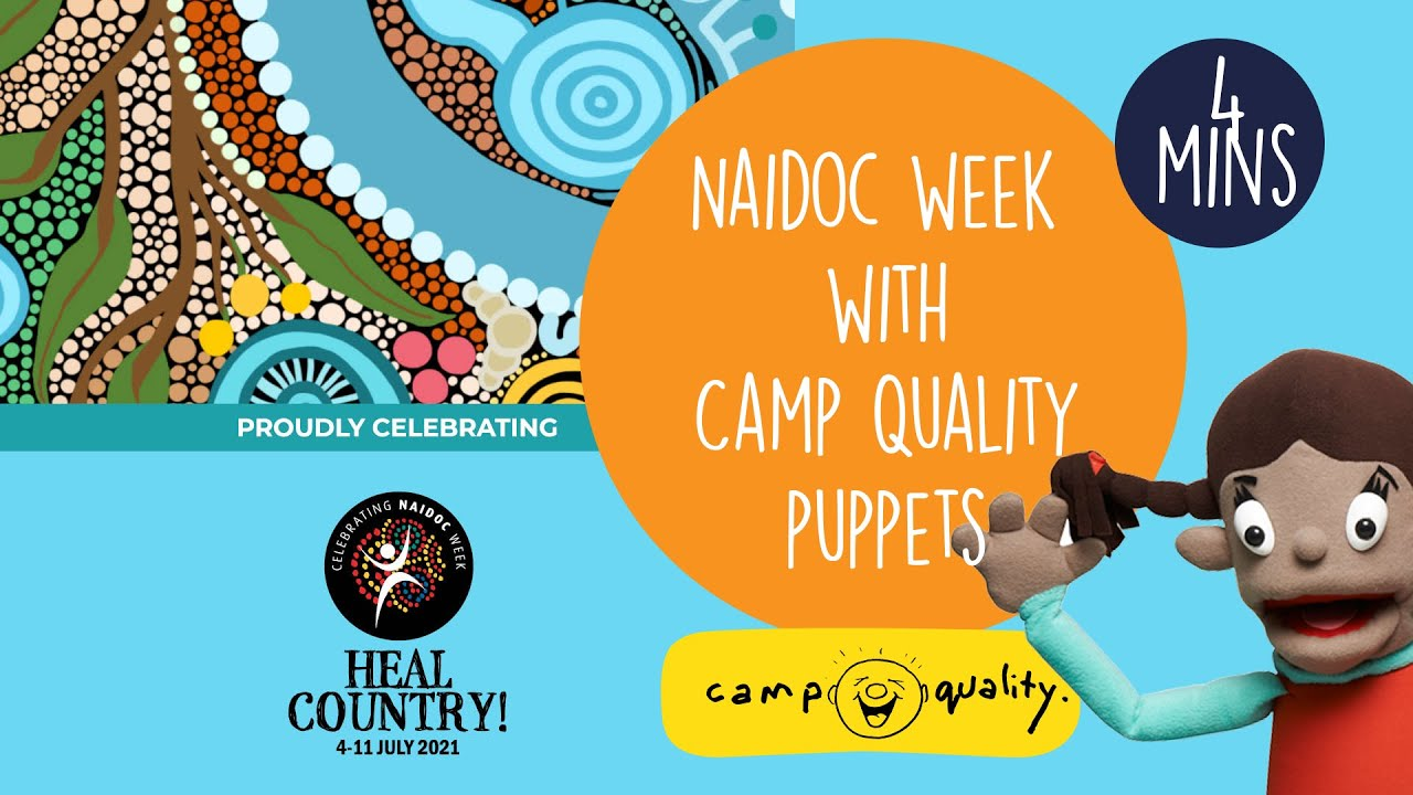 Celebrate NAIDOC Week With The Camp Quality Puppets