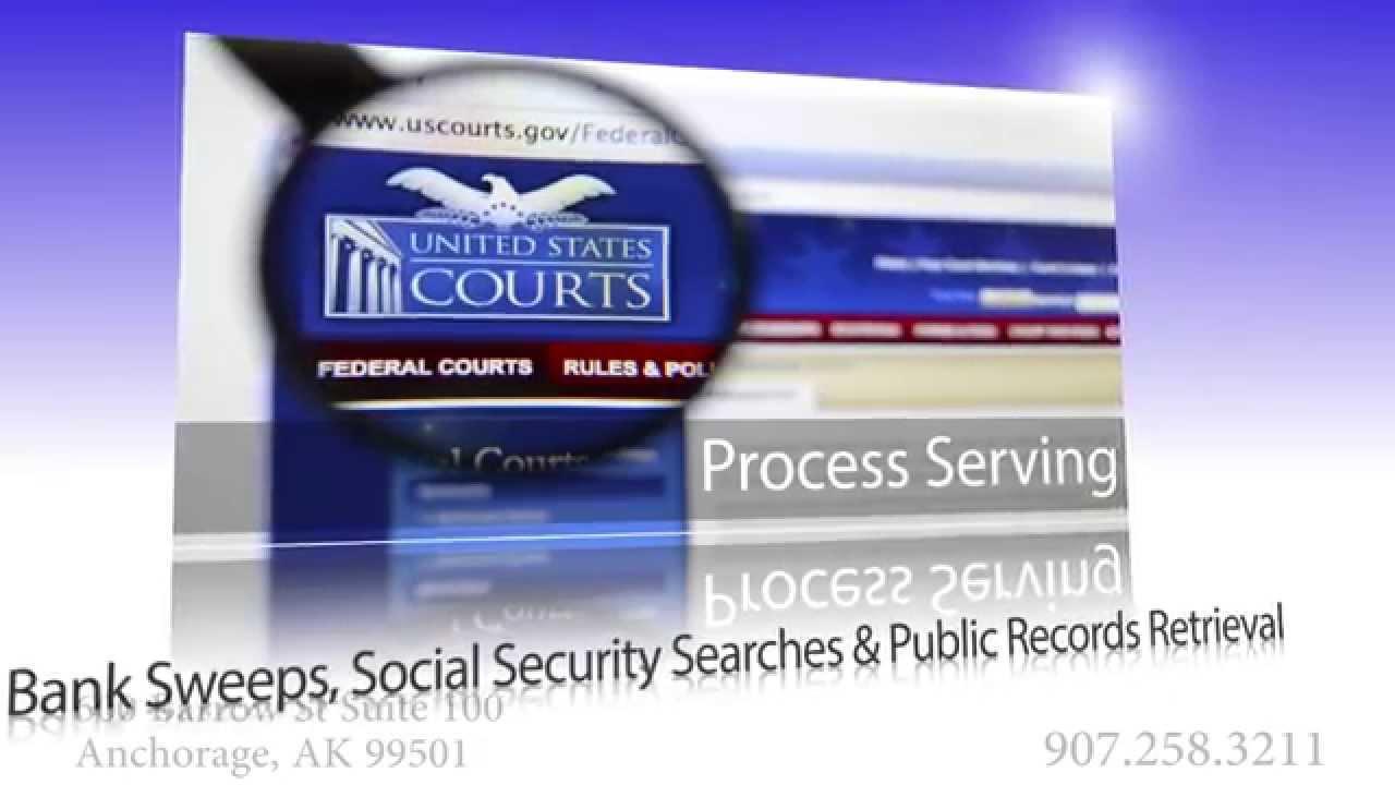 Process Court Server & Court Services in Alaska