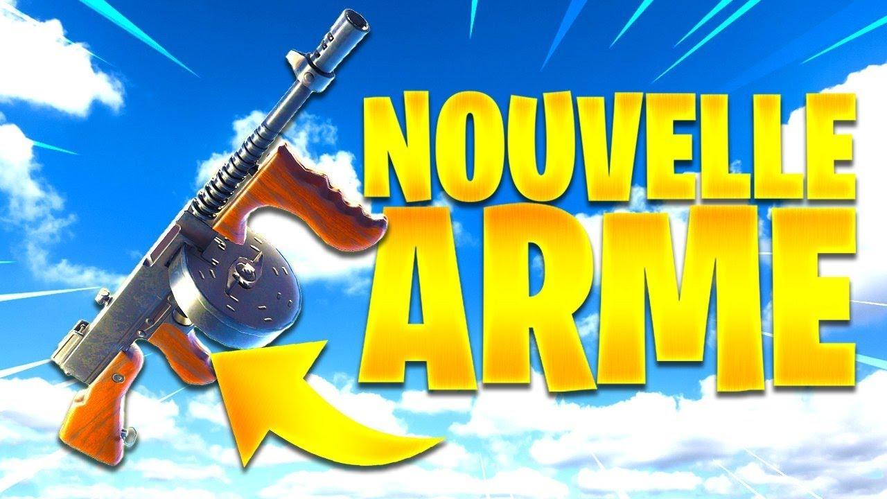 La Nouvelle Arme La Plus Puissante Du Jeu Fortnite Battle Royale Gameplay