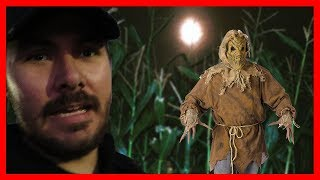 Creepy Haunted Corn Maze At Moapa Valley Corn Maze | Cohdey Vlogs