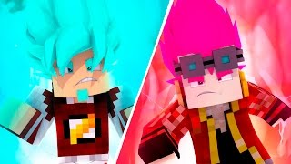 Minecraft: SAYAJIN ROSE vs BLUE - DRAGON BLOCK C Ep.37 ‹ AMENIC ›