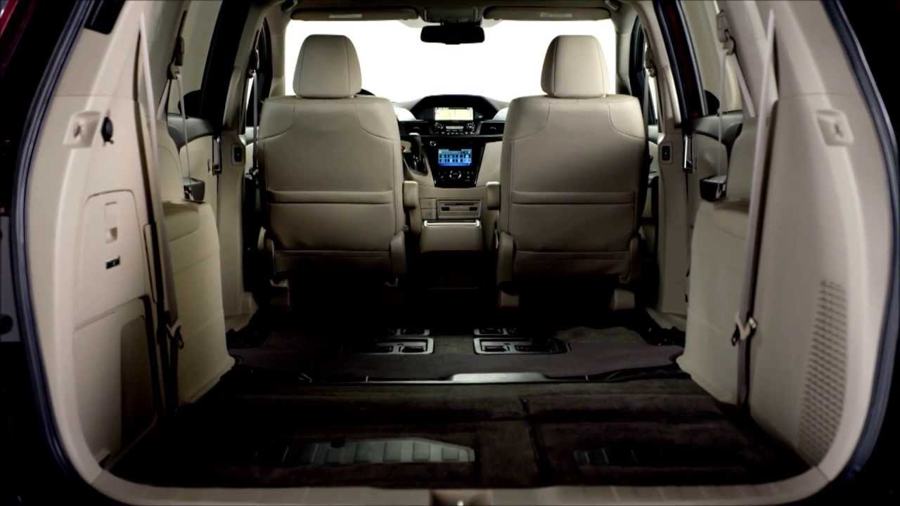 2014 honda odyssey interior youtube. Black Bedroom Furniture Sets. Home Design Ideas