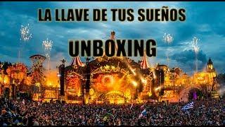 ENTRADA TOMORROWLAND 2018 UNBOXING en ESPAÑOL   LA llave de tus SUEÑOS está AQUÍ!