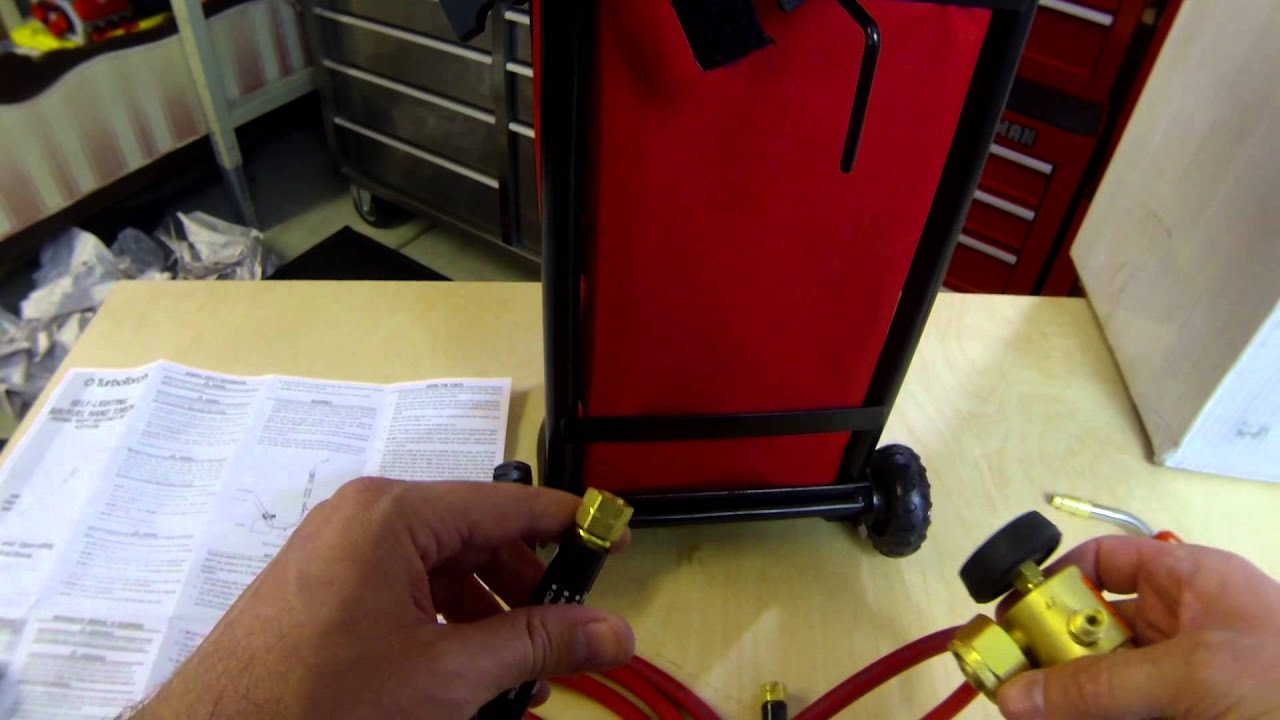 TurboTorch 0386-0578 Rolling Tote//Carrier Kit