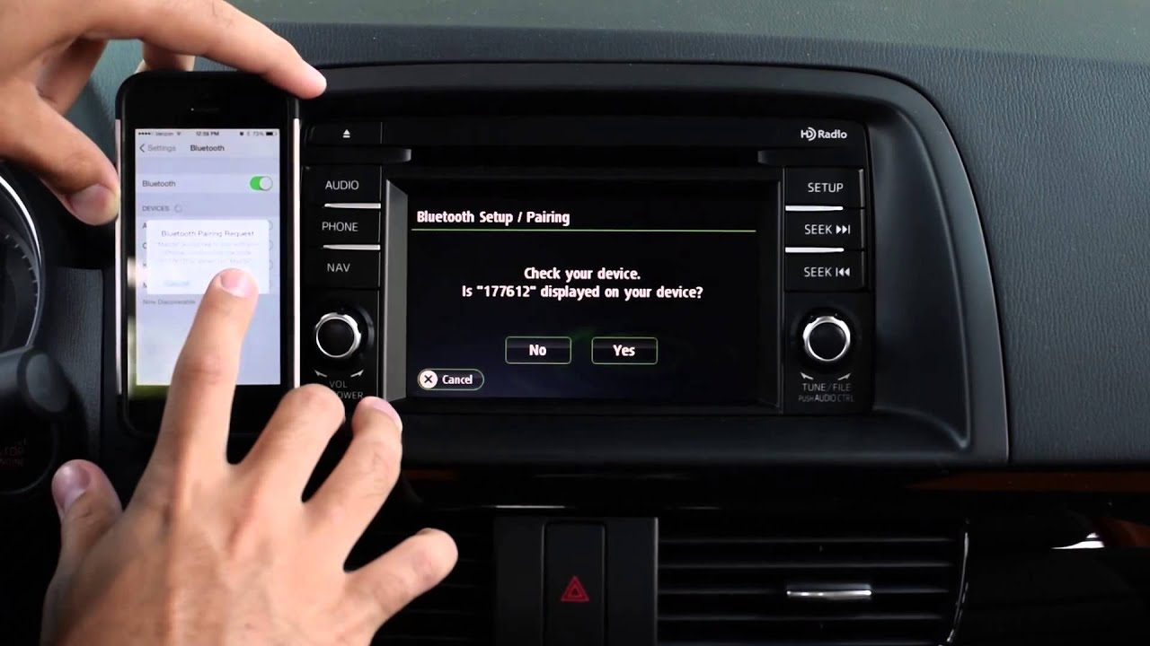 cx 5 iphone bluetooth pairing tutorial morrie s minnetonka mazda rh youtube com 2016 Mazda CX -9 Interior Mazda CX- 5