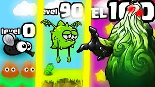 IS THIS THE STRONGEST HIGHEST LEVEL ANIMAL EVOLUTION UPDATE? (SWAMP MONSTER BOSS) l Flyordie.io New
