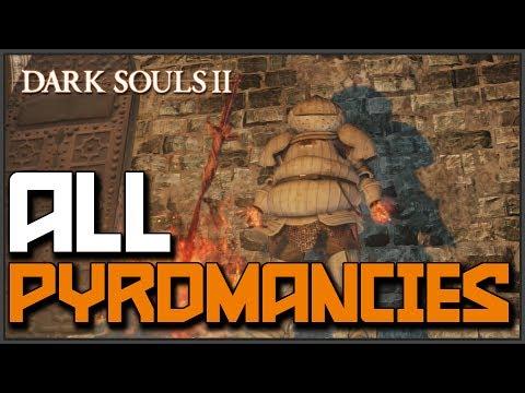 Dark Souls 2: All Pyromancy Locations & Showcase