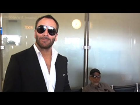 Designer Tom Ford Is Asked His Thoughts On O. J. Simpson's Parole