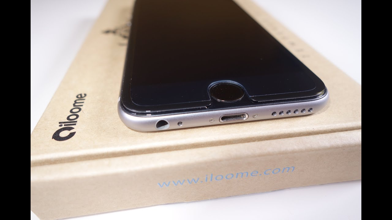 the latest 806be 41ab0 iPhone 6 Full Screen Protector from iLoome (ScreenMate)