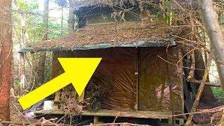 Förster findet eine geheimnisvolle Hütte im Wald - Nach dem Betreten wartete eine Überraschung!