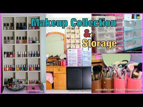 My Updated Makeup Collection Storage  | SuperPrincessjo